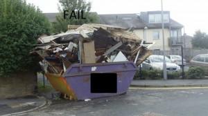 Fail Dumpster Rental