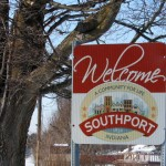 southport indiana sign