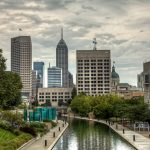indianapolis local photo skyline